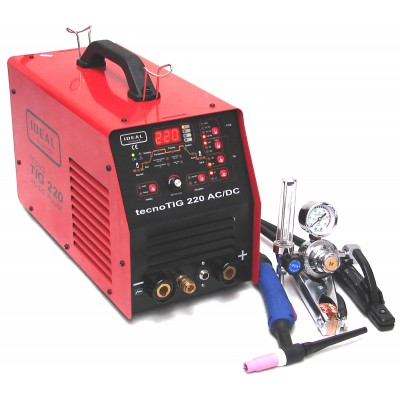 Spawarka inwertorowa TECNOTIG 220 AC/DC PULSE IDEAL