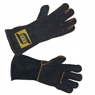 Rękawice spawalniczo-ochronne Heavy Duty czarne
